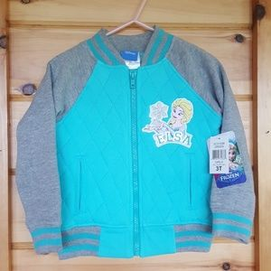Other - Elsa sweater zip jacket size 3t